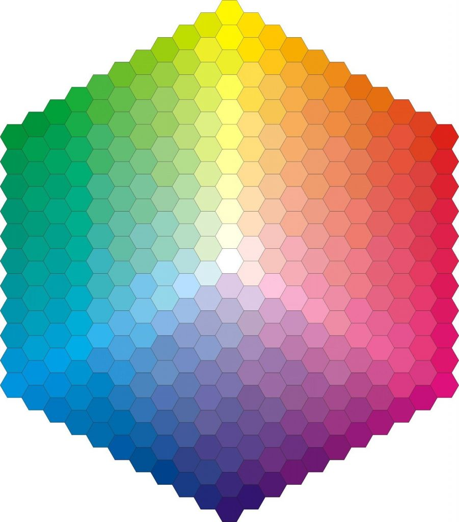 CSS colors hexagram