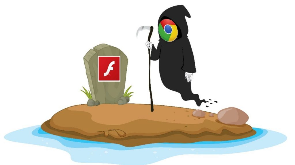 Chrome no longer supports flash