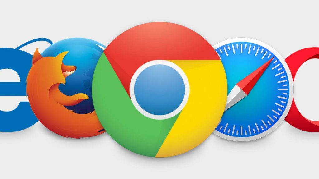 all browser logos in one image